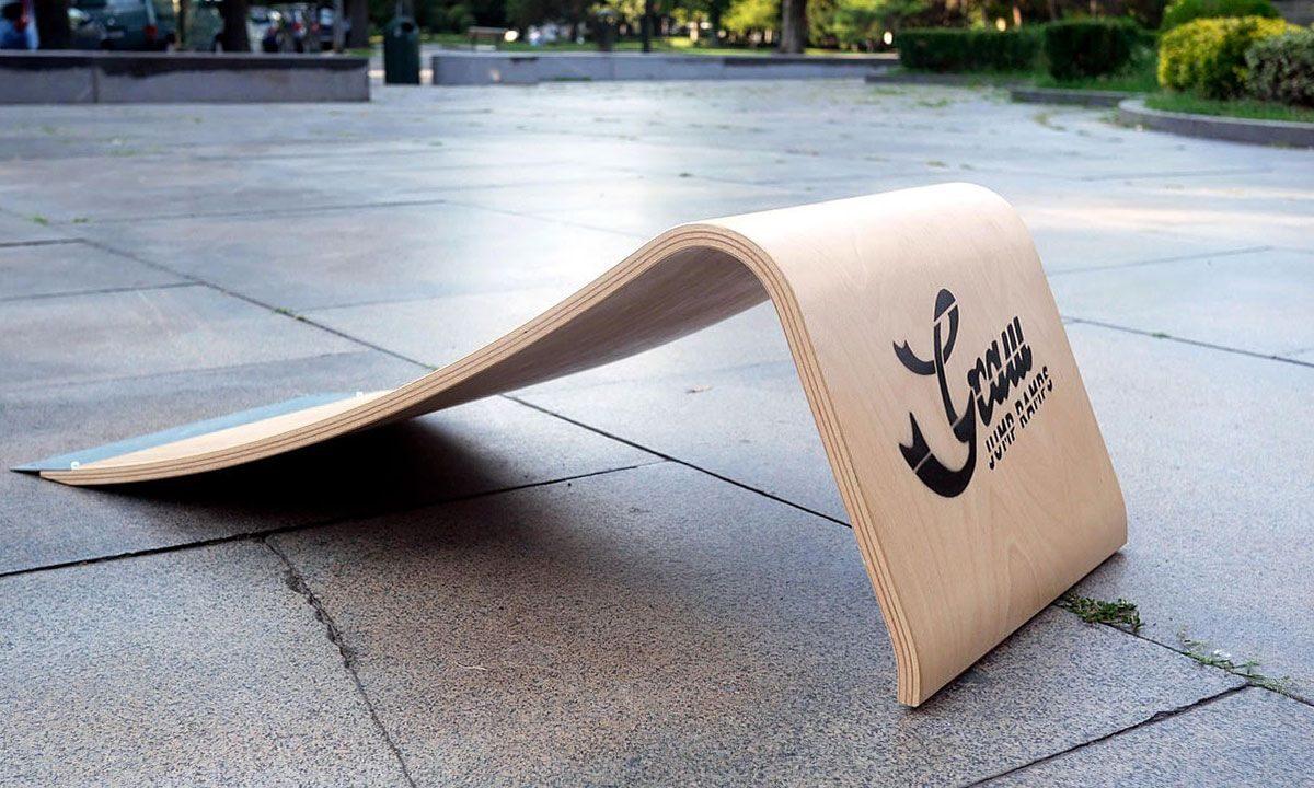 Graw Jump Ramp G35 Pro skateboard jump ramp profile