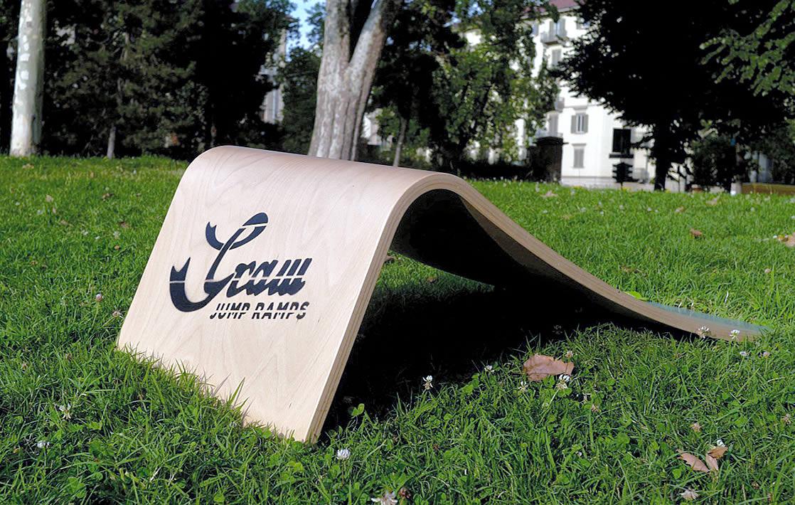 Graw Jump Ramps G35 Professional skateboard jump ramp
