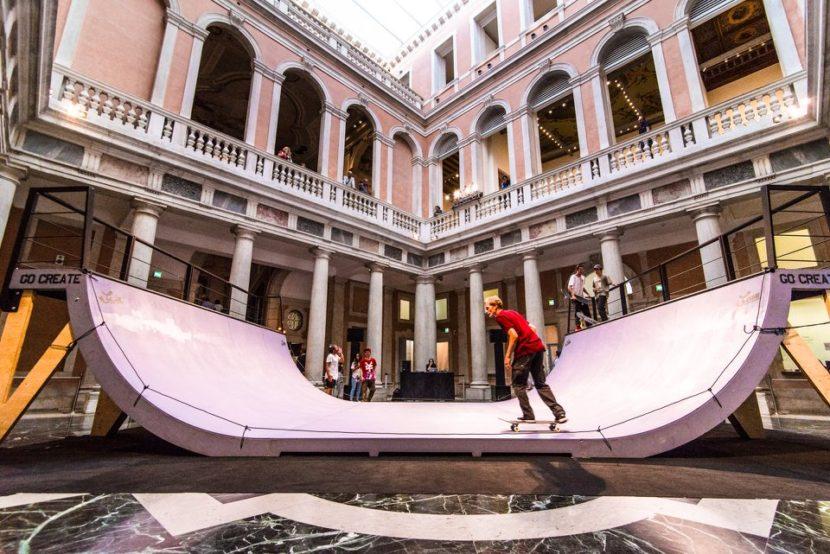 Graw jump ramps palazzo grassi venezia