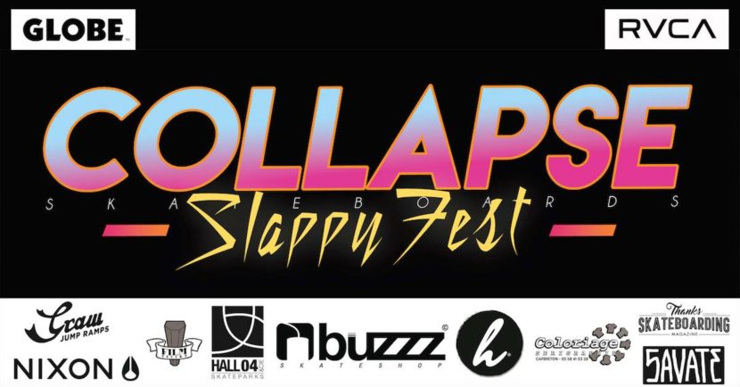 collapse slappy fest skateboards best trick