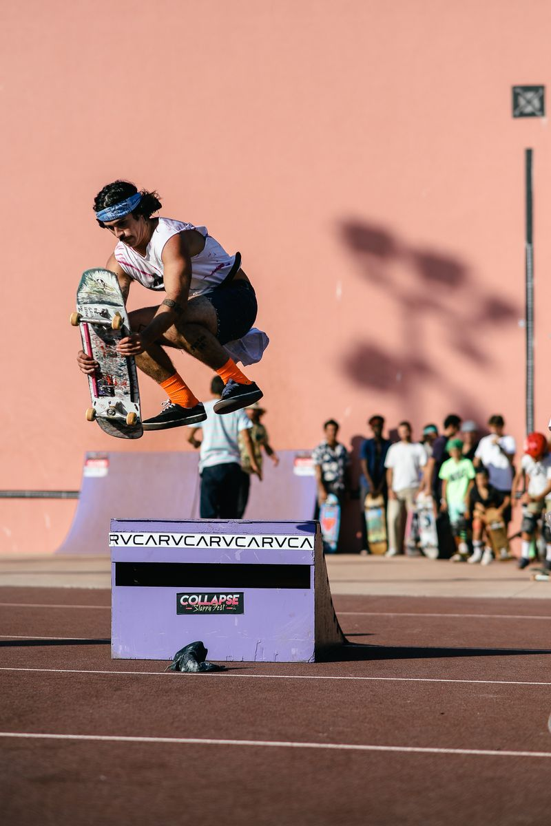 collapse skateboard event