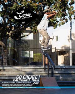 THE GRAW TOUR 2018 – CALIFORNIA – SKATEBOARDS