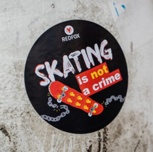 """Graw Supports the """"Skating is Not a Crime"""" Movement in Antwerp, Belgium"""